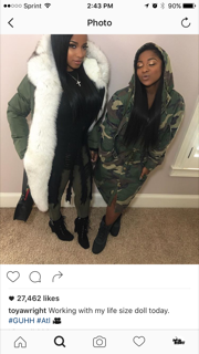 Courtesy of Toya Wright's Instagram