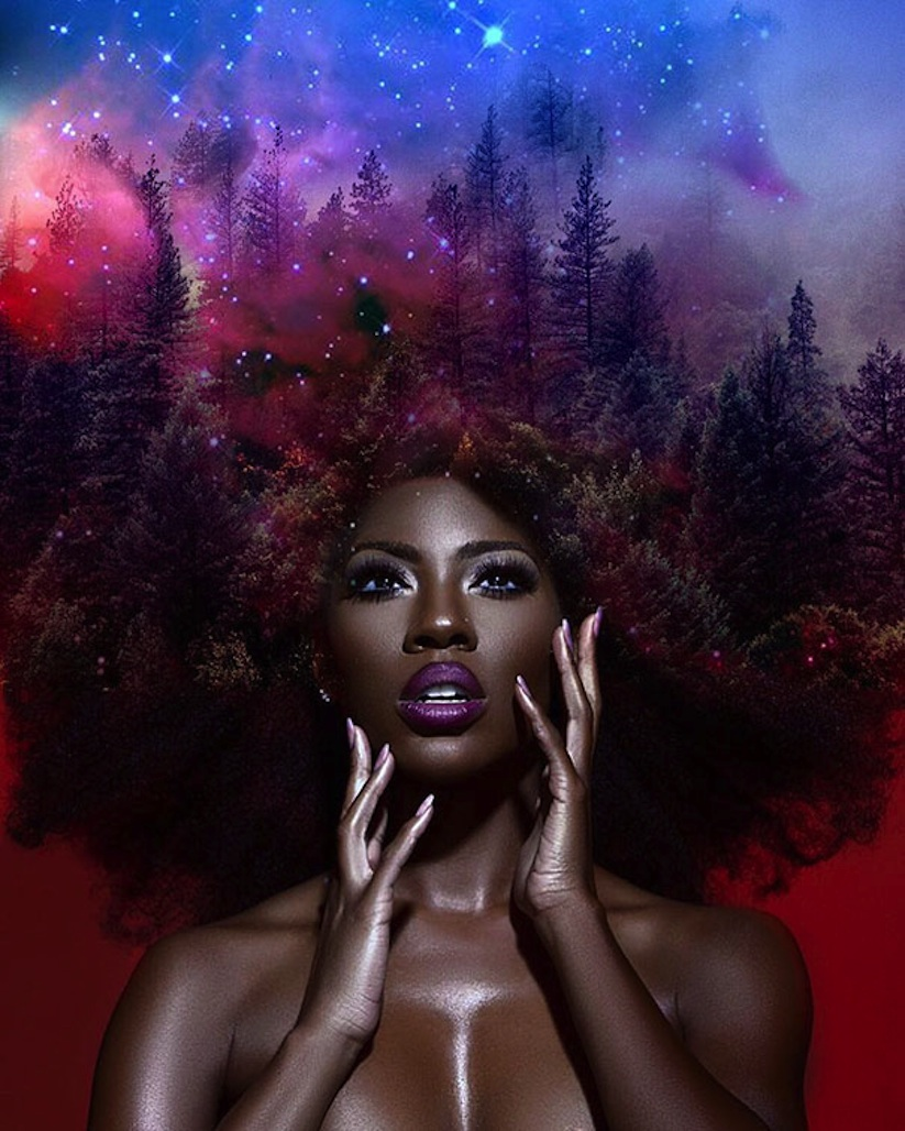 Happy women s history month black girl magic moments of 2017 the beat blog - Beautiful woman painting hd ...