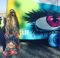 Eva Marcille at Coachella