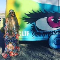 Eva Marcille at Coachella