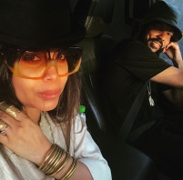 Erykah Badu and Carl Jones