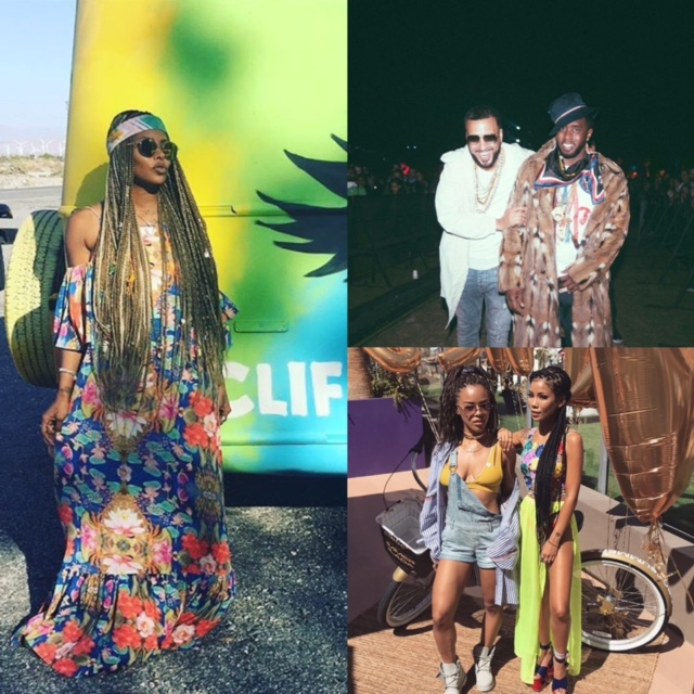 celebs at coachella